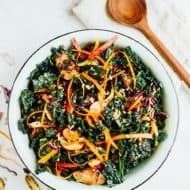 Whole Foods Garlicky Kale Salad Calories