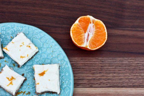 No Sugar Skinny Clementine Cheesecake Bites