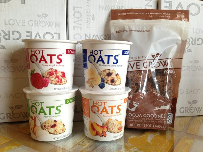 hot oats giveaway