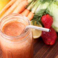 Strawberry Sunrise Juice