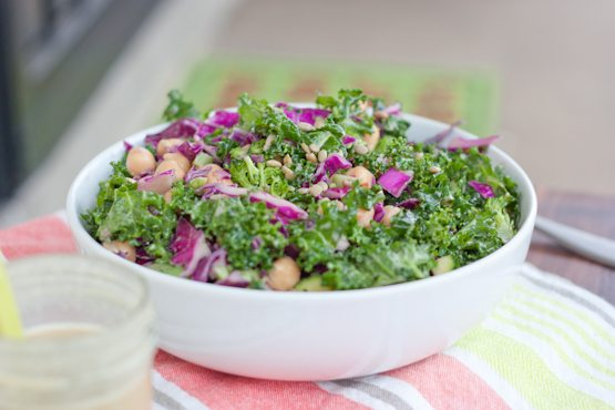 Kale and Cabbage Goddess Salad
