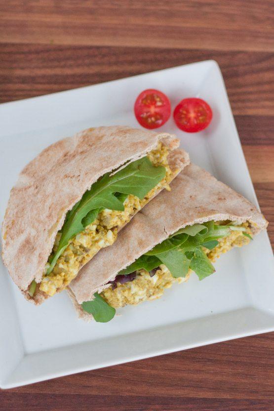 Curried Avocado Egg Salad