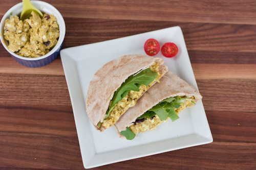 Curried Avocado Egg Salad