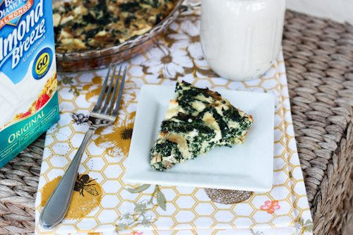 Kale and Feta Crustless Quiche - Eating Bird Food