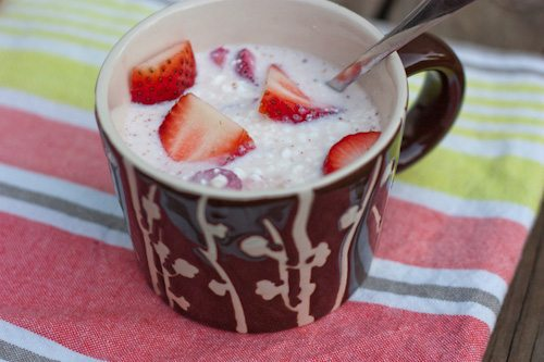 Protein Packed Strawberries & Cream