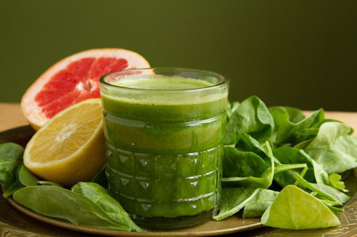 Blushing Green Juice