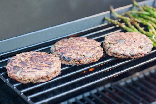 grilling nobull burgers