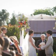 Wedding Recap: Rustic Chic Details
