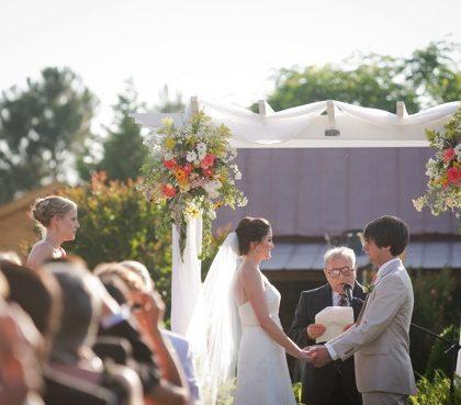 Wedding Recap: Rustic Chic Details