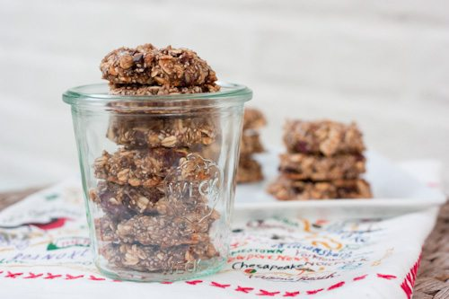 Chia Oatmeal Breakfast Cookie