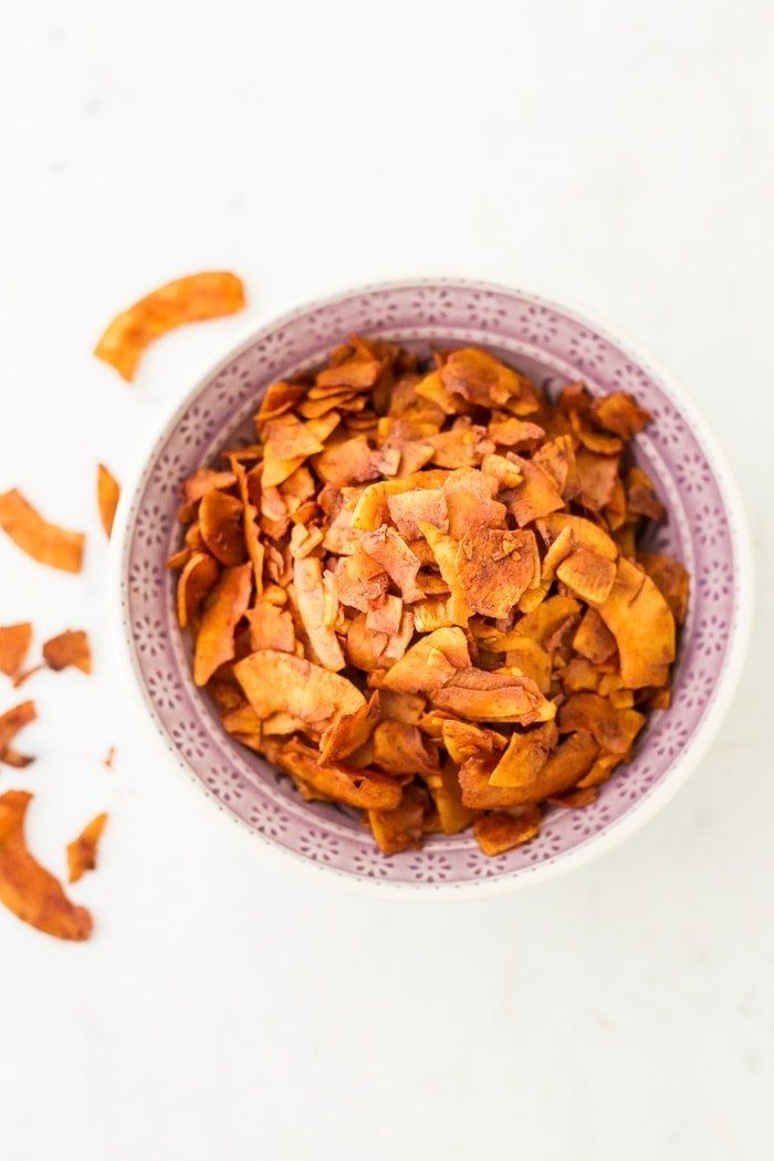 How to make coconut bacon that's crispy, crunchy and vegan!