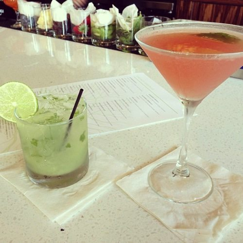 Drinks at the Daily Kitchen and Bar