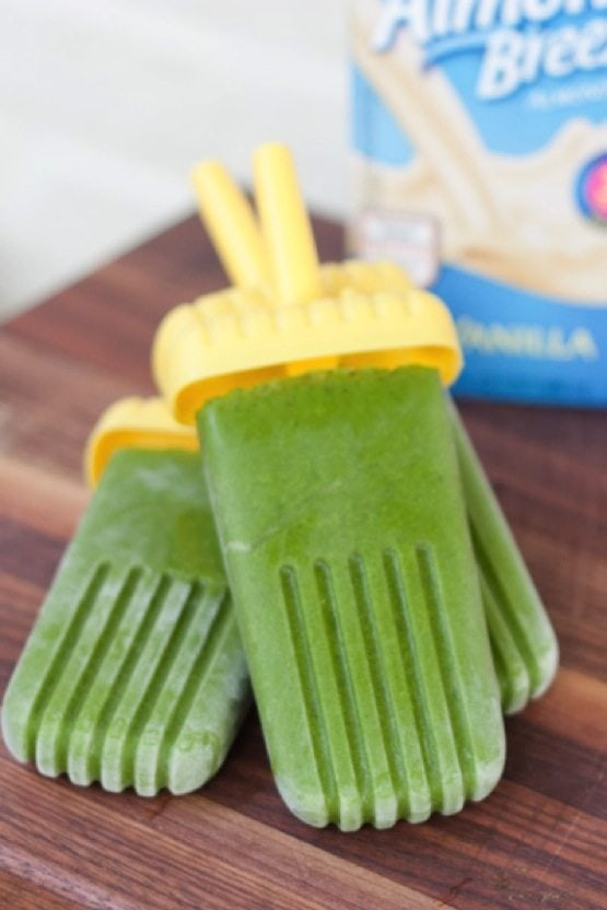 Green Smoothie Protein Popsicles