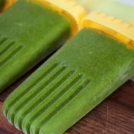 Green Smoothie Protein Pops