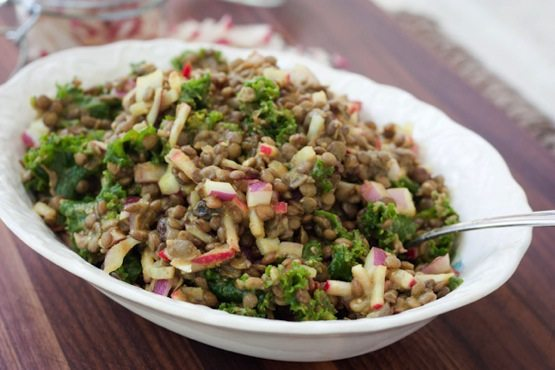 The Best Lentil Salad