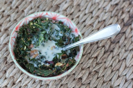kale granola cereal