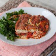 Skinny Tofu Zucchini Lasagna