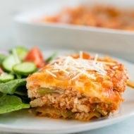 Tofu Zucchini Lasagna