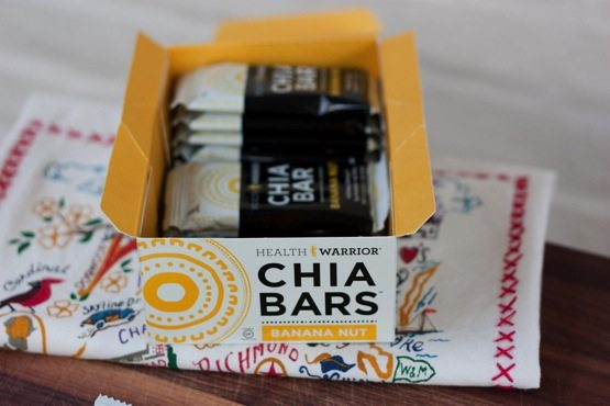 New Health Warrior Chia Bar Flavors + Giveaway