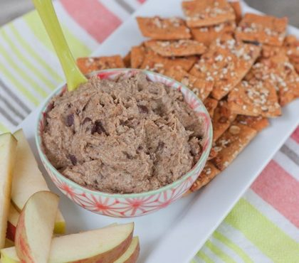 I Made It: Healthy Cookie Dough Dip