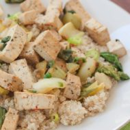 Quick & Healthy Dinner: Tofu and Bok Choy Stir-Fry