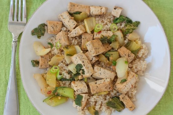 Tofu and Bok Choy Stir Fry