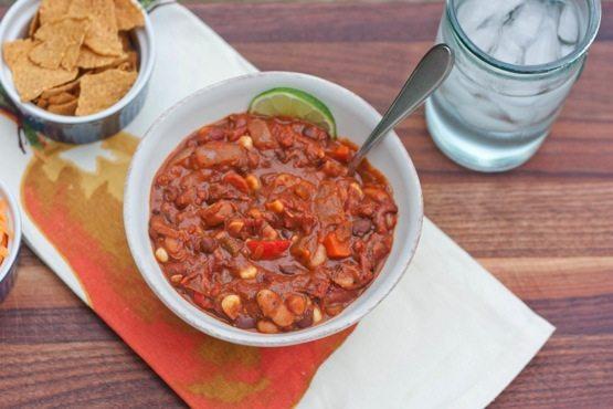 Pb vegetarian chili