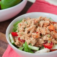 Sweet Potato Tuna Salad (No Mayo)