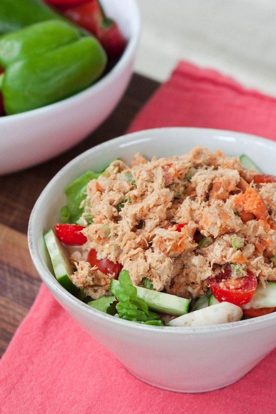 Sweet Potato Tuna Salad No Mayo Eating Bird Food