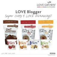 Love Grown Foods Super Oats Giveaway