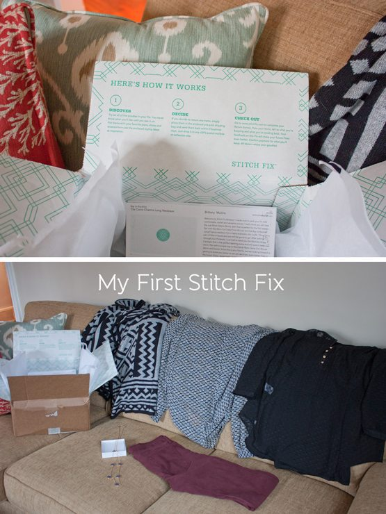 First Stitch Fix