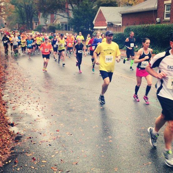 Richmond Marathon 2013