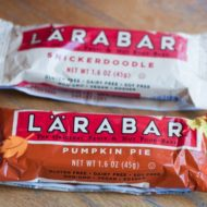 Larabar's Seasonal Flavors: Pumpkin Pie and Snickerdoodle {Giveway}