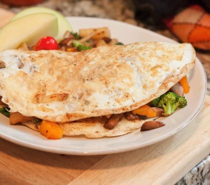 Autumn Egg White Omelette + Weekend Happenings