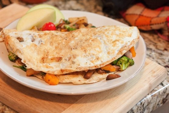 Autumn Egg White Omelette