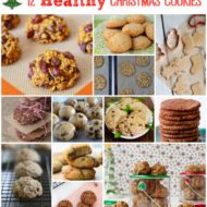 12 Healthy Christmas Cookies