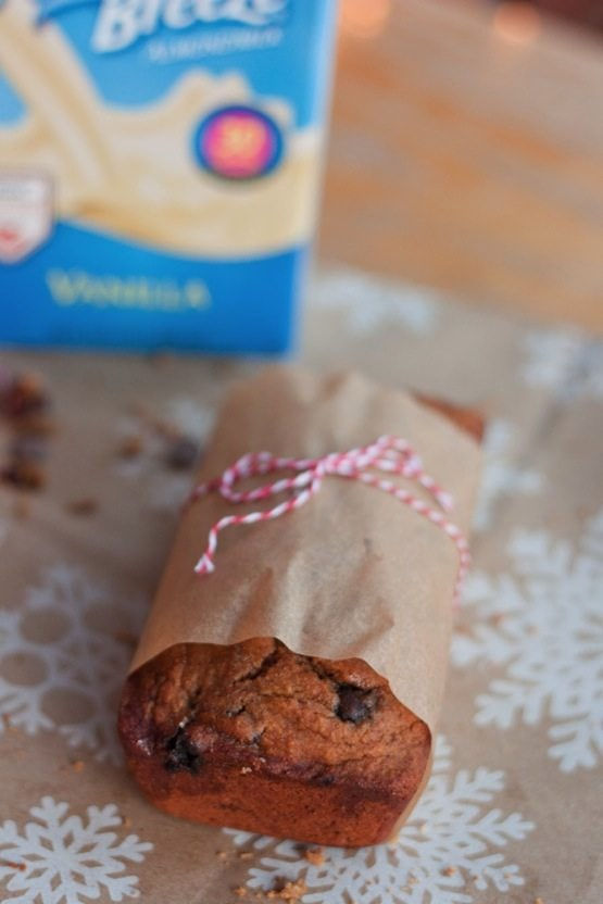 Cranberry Chocolate Chip Banana Bread // Eating Bird Food