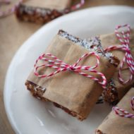 Healthy No Bake Coconut Bars