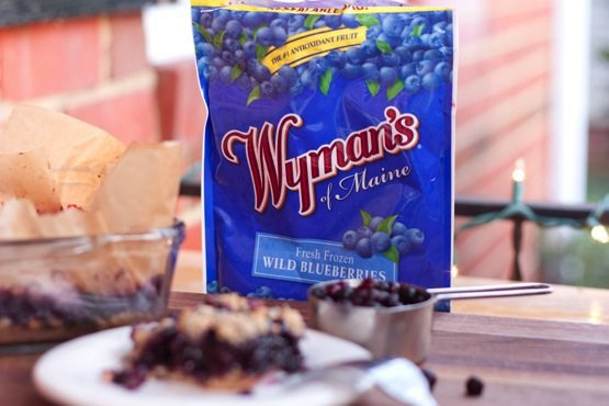 Fresh Frozen Wyman's Wild Blueberries