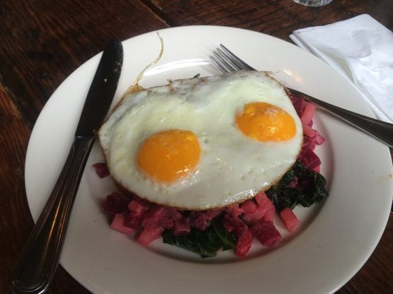 Eggs and Beets