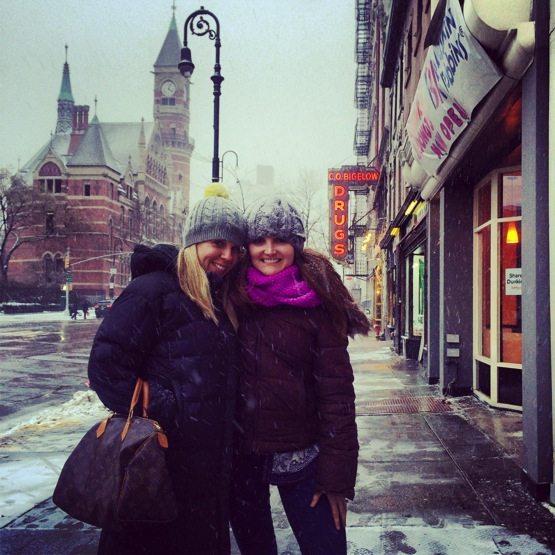 Theodora and I - NYC