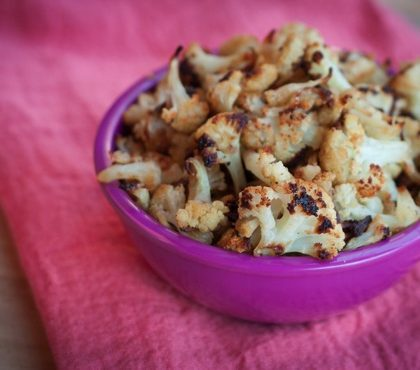 Healthy Cauliflower Popcorn / Kettle Corn