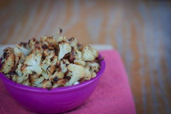 Healthy Cauliflower Popcorn / Kettle Corn