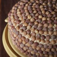 Chocolate Peanut Butter Reese's Puffs Cake = Isaac's 30!