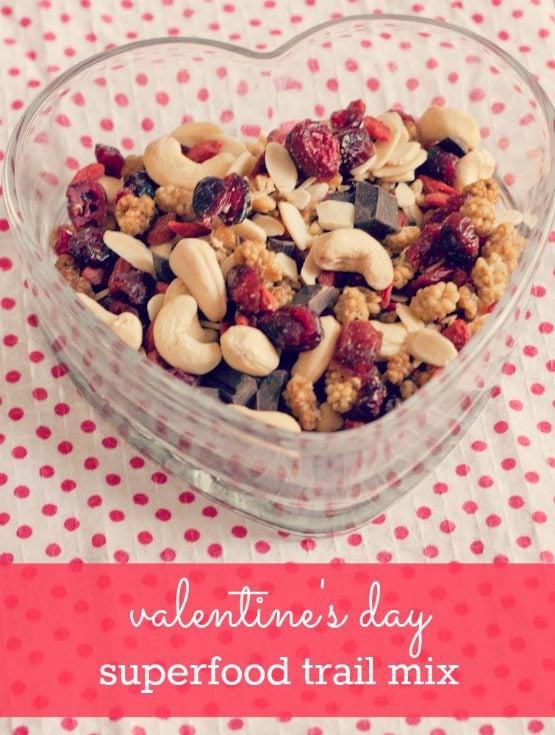 Valentine's Day Superfood Trail Mix