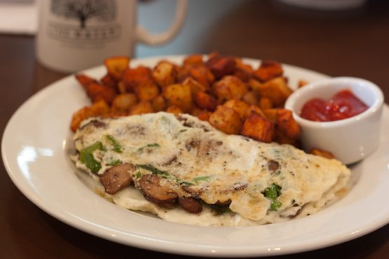The Daily -- Wild Mushroom Omelet