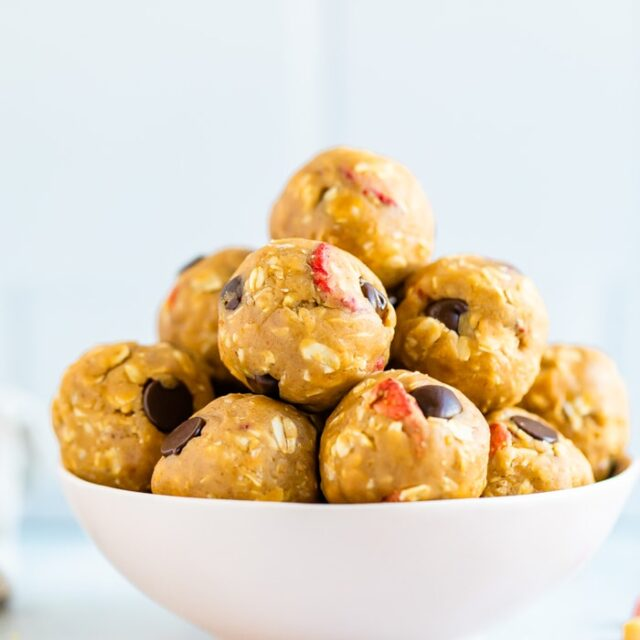 Peanut Butter & Jelly Protein Bites