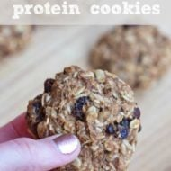 Protein Packed Oatmeal Raisin Cookies
