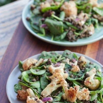 The Best Roasted Cauliflower Salad