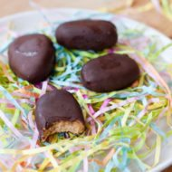 Homemade Chocolate Peanut Butter Eggs